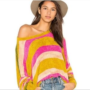 ISO FREE PEOPLE ALL ABOUT YOU STRIPED SWEATER